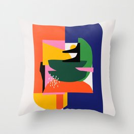 Mad sweet Throw Pillow