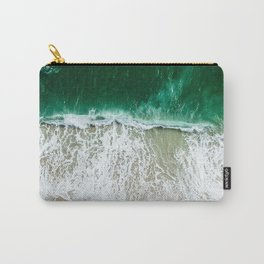 miami beach aerial view Carry-All Pouch