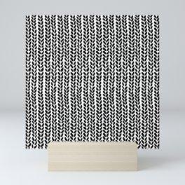 Knit Wave 2 Mini Art Print