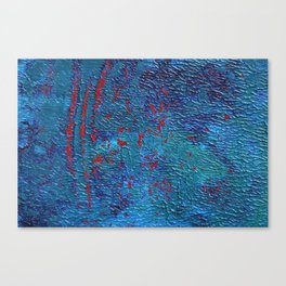 Deadly waves Canvas Print
