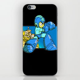 Mega-Buster iPhone Skin