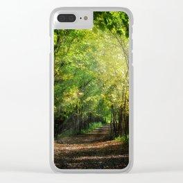 Fall Splendor Clear iPhone Case
