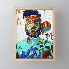 Adam Has Original Framed Mini Art Print