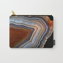 Layered agate geode 3163 Carry-All Pouch