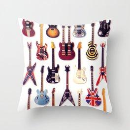 Guitar Life Throw Pillow