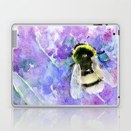 Bumblebee and Lavenders Laptop & iPad Skin