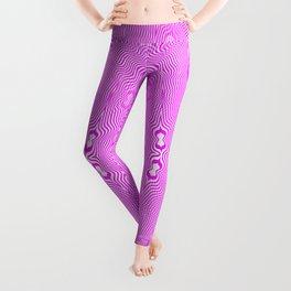 1905 pink pattern Leggings