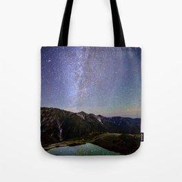 HAKUBA Japanalps stars Tote Bag