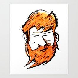 Beardme Art Print