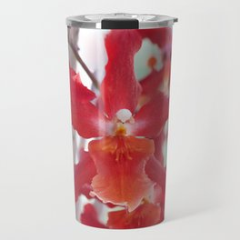 Exquisite Epidendrum Orchids Travel Mug
