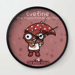 Eveline the Hypochondriac Mole Wall Clock
