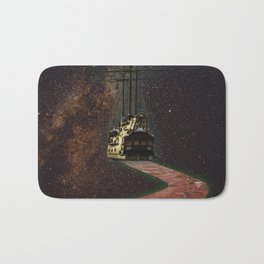Space Ship Bath Mat