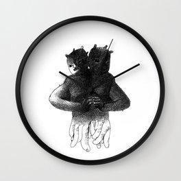 Siamese[lect] Wall Clock