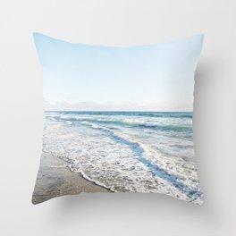 San Diego Waves Throw Pillow