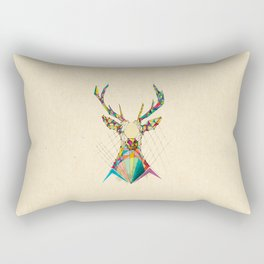 Illustrated Antelope Rectangular Pillow