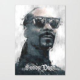 Snoop Dogg sketch Canvas Print