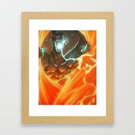 God vs God Killer Framed Art Print