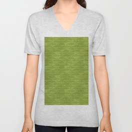 Palm Traffic! (Olive Green) Unisex V-Neck