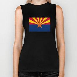 Arizona: Arizona State Flag Biker Tank