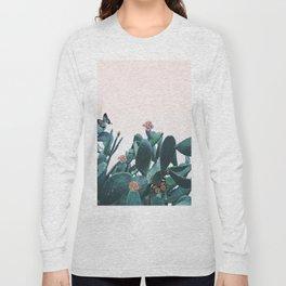 Cactus & Flowers - Follow your butterflies Long Sleeve T-shirt