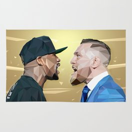 THE FIGHT OF THE CENTURY Rug