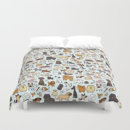 Doggy Doodle Duvet Cover