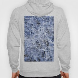 Nashville Tennessee City Map Hoody