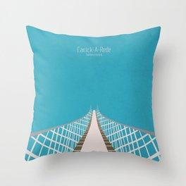 Carrick-A-Rede Rope Bridge Throw Pillow