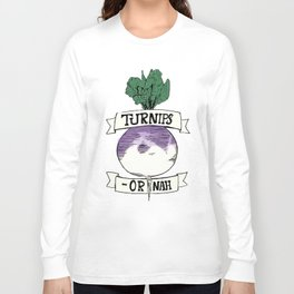 Turn-ups Long Sleeve T-shirt
