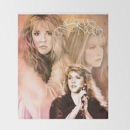 Stevie Nicks   Art Print Throw Blanket