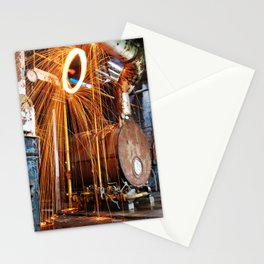 Pineville NC Textile Mill Spin Stationery Cards