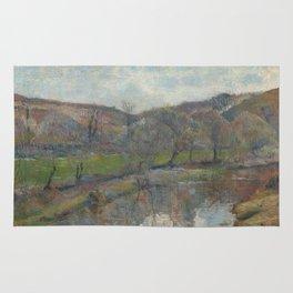 Paul Gauguin - Brittany Landscape Rug