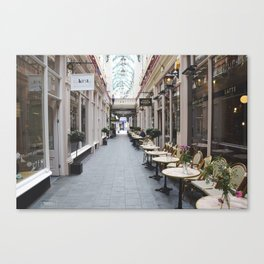 All about cheese Canvas Print