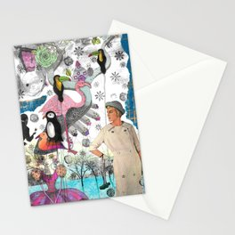 Collage I Stationery Cards