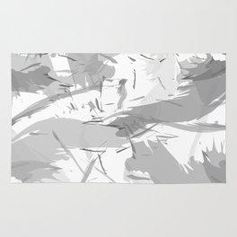 Abstract composition. Creative chaos Rug