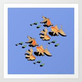 Fish Fish Art Print