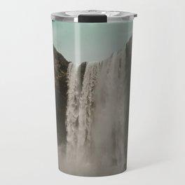 Iceland Waterfall x Skógafoss Travel Mug