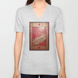 The Star of the Fairies Book Unisex V-Neck