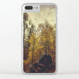 Find your place Clear iPhone Case