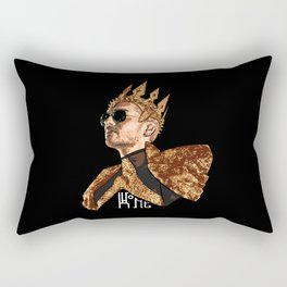 King Bill - White Text Rectangular Pillow