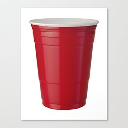 Red Solo Cup Canvas Print