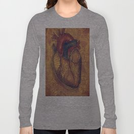 MINTED HEART Long Sleeve T-shirt