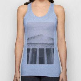 The Pantheon, fine art print, black & white photo, Rome photography, Italy lover, Roman history Unisex Tank Top