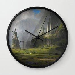 Ventus Castle Wall Clock