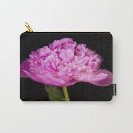 Monsieur Jules Elie Pink Peony Carry-All Pouch