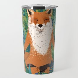 Fox Yoga Travel Mug