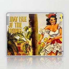 Cuba Holiday Isle of the Tropics Laptop & iPad Skin