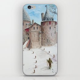 Castell Coch (Red Castle) - Winter iPhone Skin