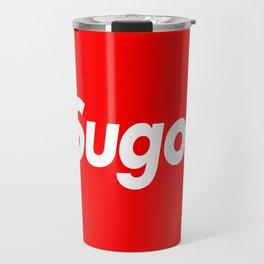 "Supreme inspired ""Sugoi"" Travel Mug"