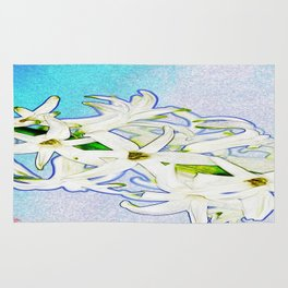 lirios ( lilies ) Rug
